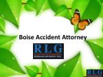 boise accident attorney