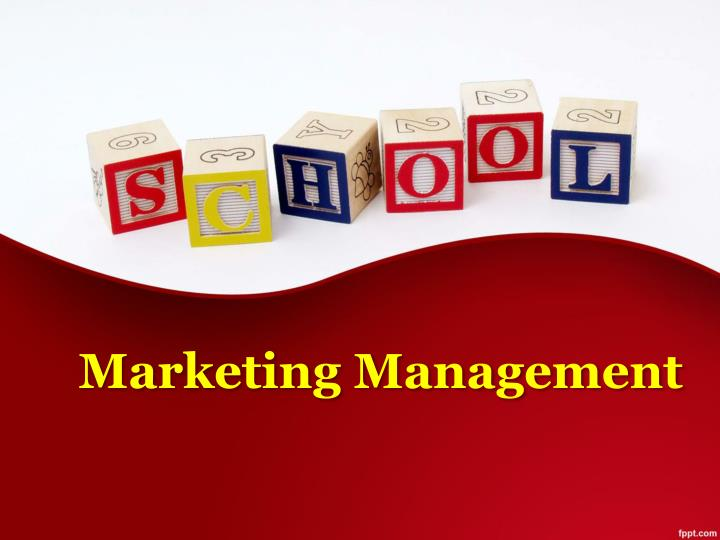 marketing management n.