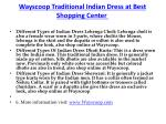 wayscoop traditional indian dress at best shopping center 4
