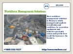 w orkforce management solutions