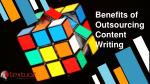 benefits of outsourcing content writing