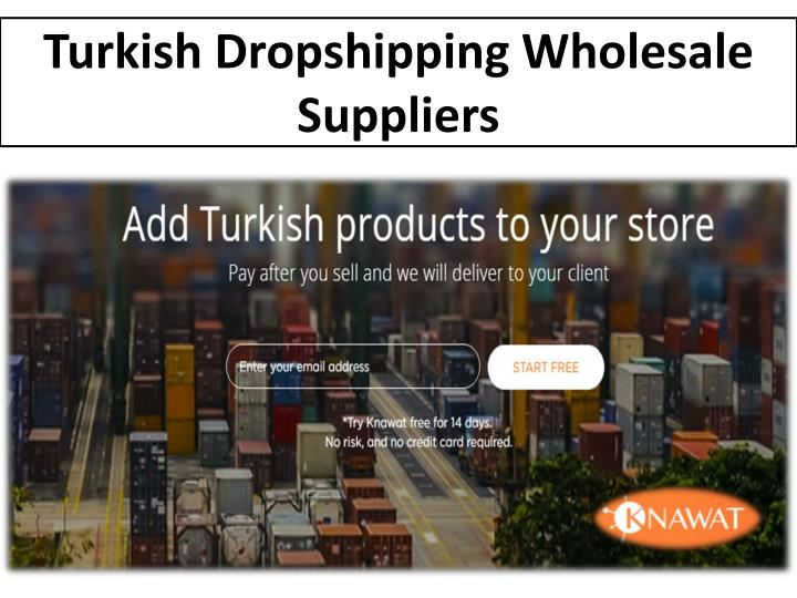 turkish dropshipping wholesale suppliers n.