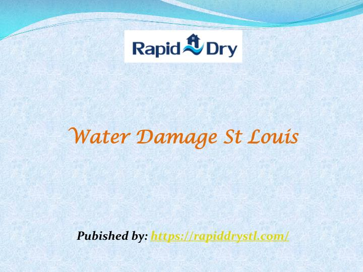 water damage st louis pubished by https n.