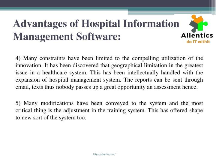 benefits of hospital information system