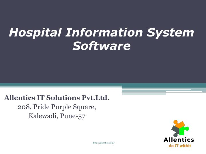 hospital information system software n.