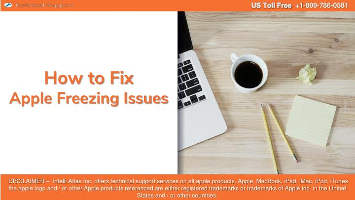 how to fix apple freezing issues n.