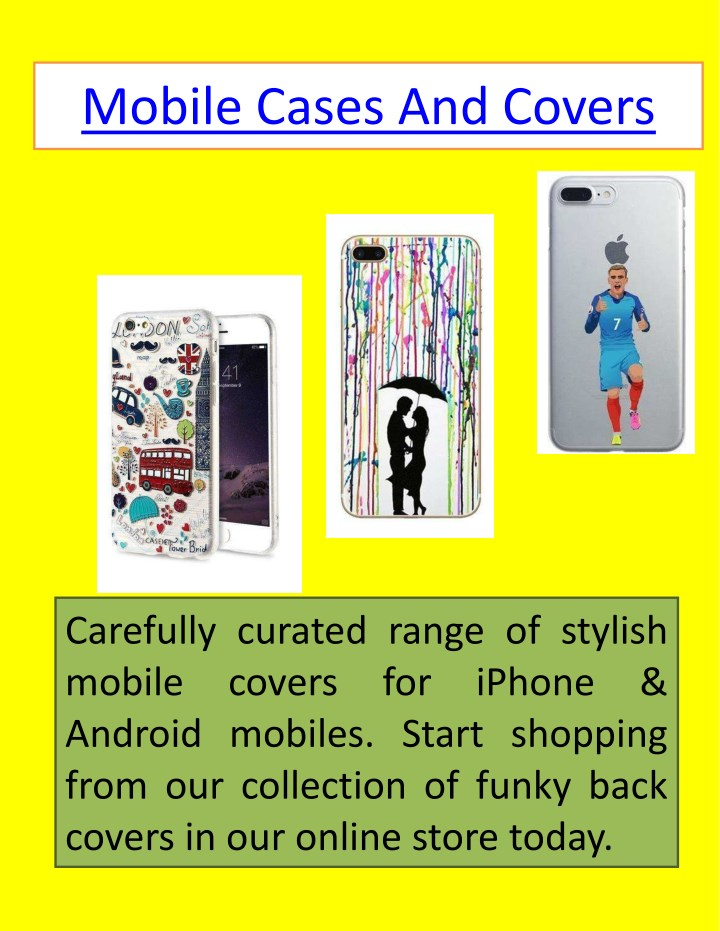 mobile cases and covers n.