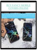 buy fancy mobile covers online