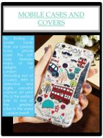 mobile cases and covers