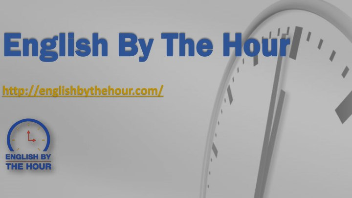 english by the hour english by the hour n.