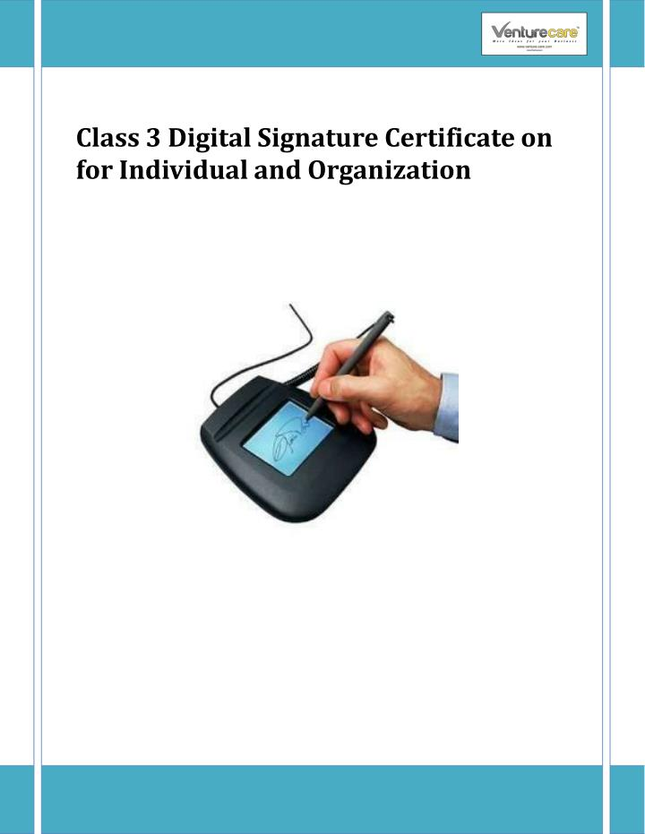 class 3 d i gital sig n ature cer t ificate n.