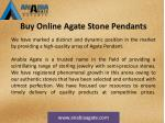 buy online agate stone pendants