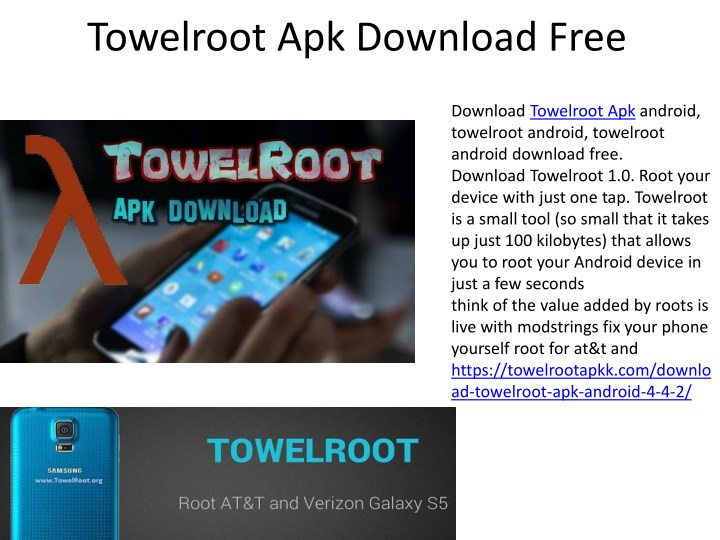 towelroot apk download free n.