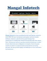 mangal infotech has been providing branded used