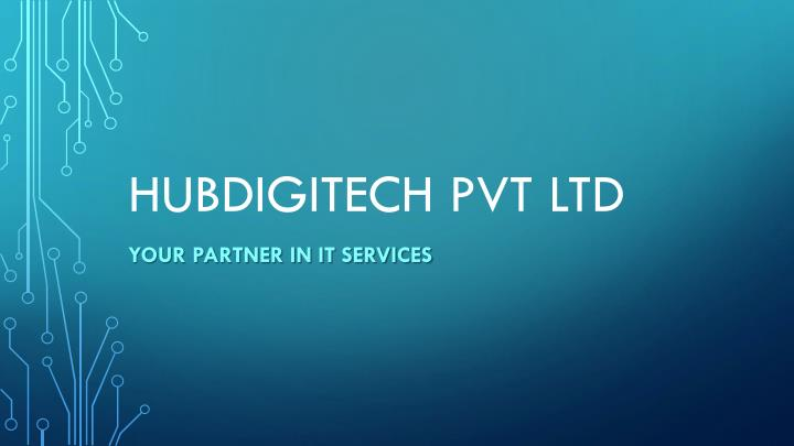 hubdigitech pvt ltd n.