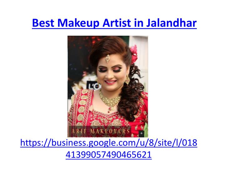 best makeup artist in jalandhar n.
