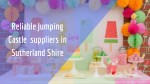 reliable jumping castle suppliers in sutherland
