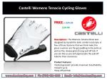 castelli womens tenacia cycling gloves