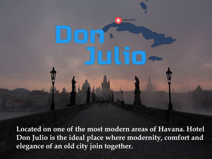 located on one of the most modern areas of havana n.