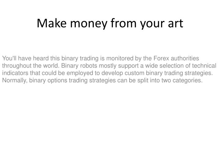make money from your art n.