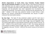 market segmentation of south africa crop