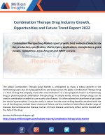 combination therapy drug industry growth