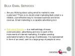 b ulk e mail s ervices
