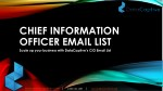 chief information officer email list scale