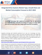 integrated drive systems market type growth rate