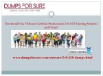 download free vmware certified professional