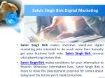 satvir singh birk digital marketing