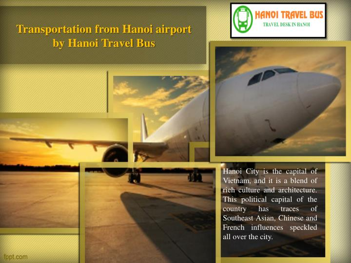 transportation from hanoi airport by hanoi travel bus n.