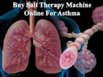buy salt therapy machine online for asthma
