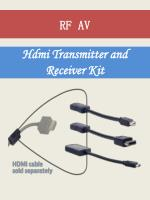 hdmi transmitter and receiver kit