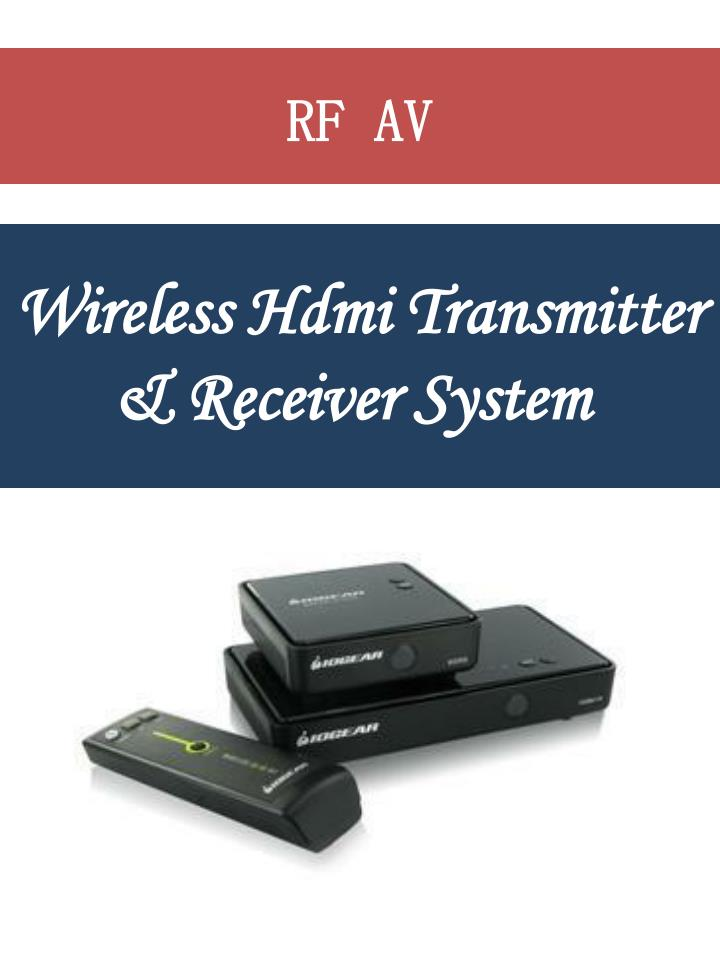 wireless hdmi transmitter receiver system n.