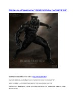 90k w a t c h black panther 2018 full online free