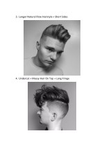 3 longer natural flow hairstyle short sides