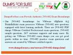 dumpsforsure com provide authentic 2v0 602 exam braindumps