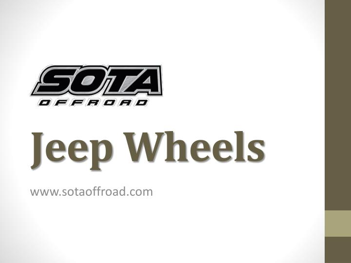 jeep wheels n.