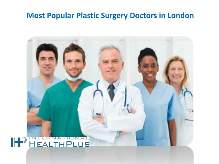 most popular plastic surgery doctors in london n.
