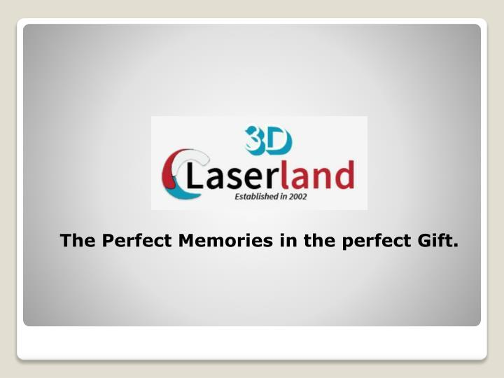 the perfect memories in the perfect gift n.