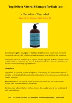 top 10 best natural shampoo for hair loss