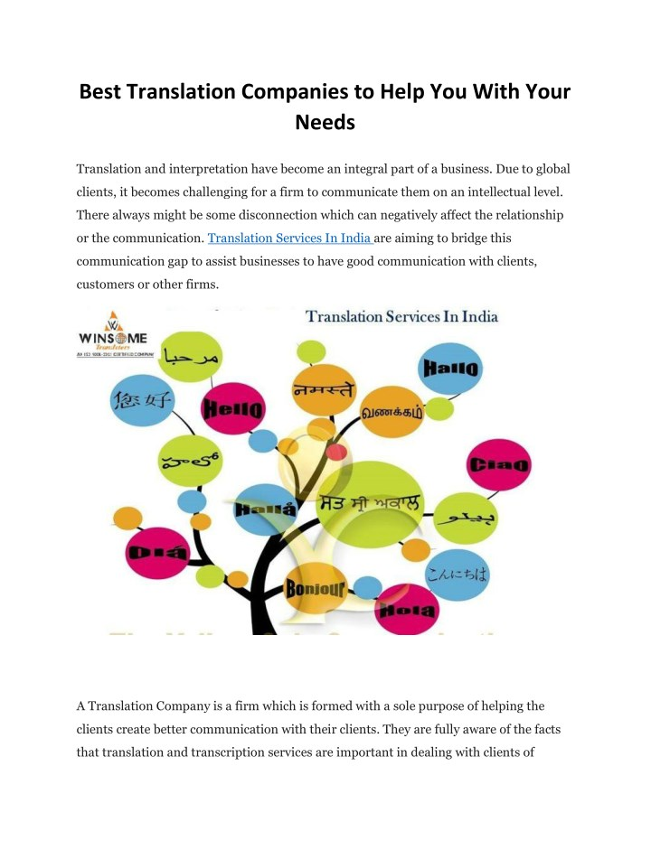 best translation companies to help you with your n.