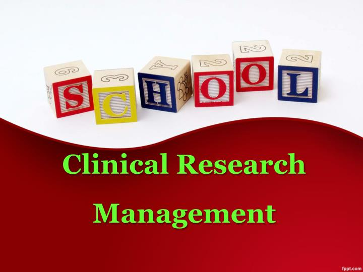 clinical research management n.
