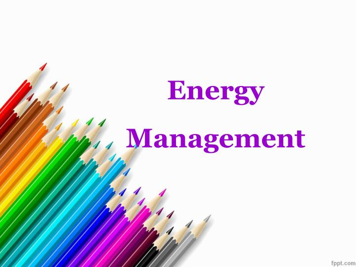 energy management n.