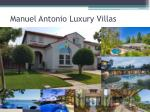 manuel antonio luxury villas