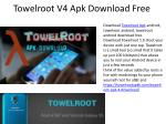 towelroot v4 apk download free