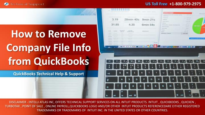 how to remove company file info from quickbooks n.