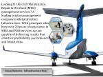 looking for aircraft maintenance repair overhaul