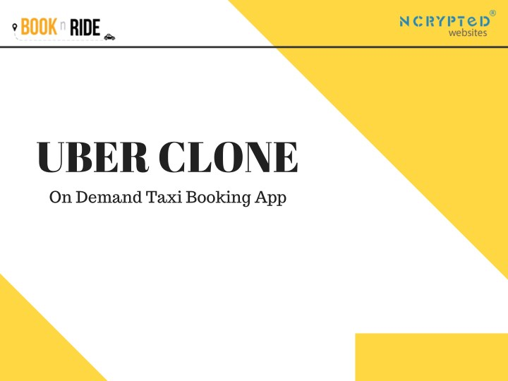 uber clone on demand taxi booking app n.